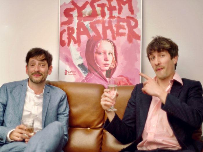 German Film Academy LOLA Award goes to Dominik Leube and Oscar Stiebitz for Best Sound, SYSTEM CRASHER